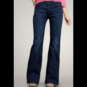 GAP . High Rise Trouser Flare Leg Jeans . 00/24